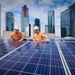 crown casino rooftop solar
