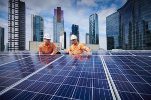 crown casino rooftop solar